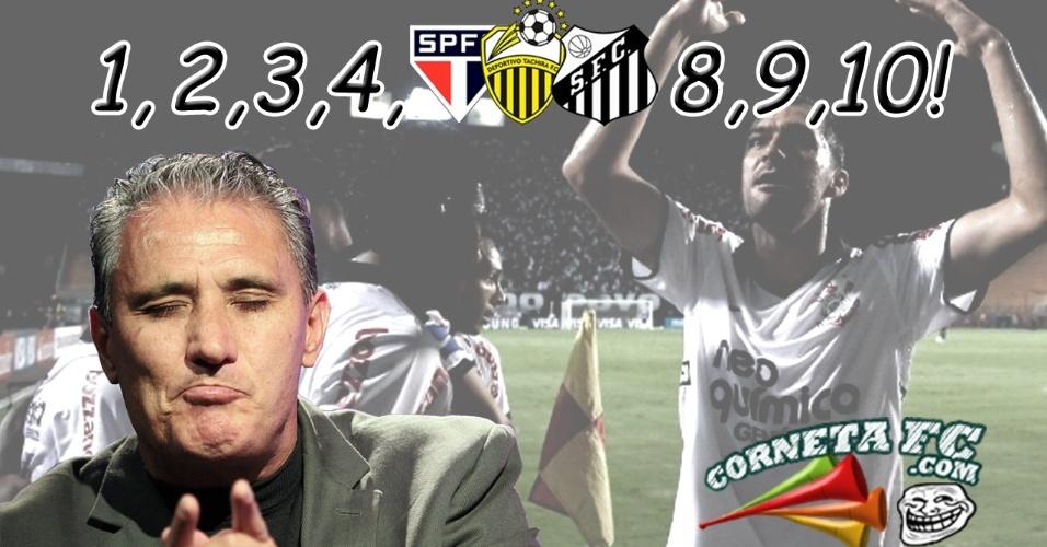 Corneta FC: Conte até 10 com o Professor Tite