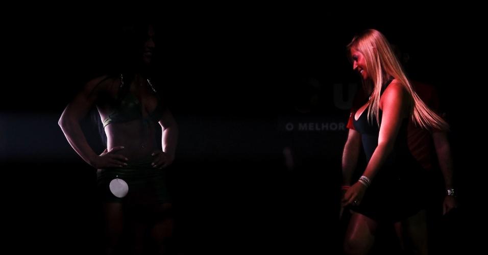 Corpos e sombras durante o concurso