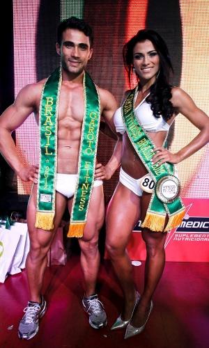 Júnior e Marissol são o Garoto e Garota Fitness Brasil 2012