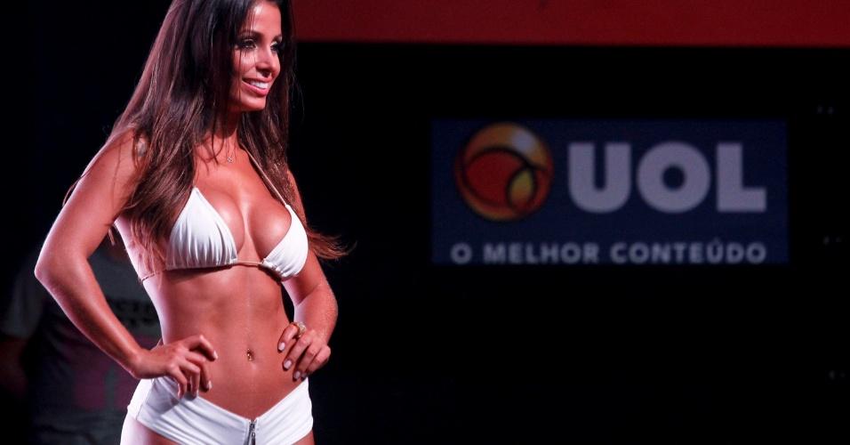 Luana Kisner disputou o prêmio