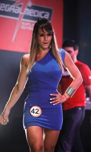 Natasha, 24 anos, foi uma das finalistas e causou furor no Garoto e Garota Fitness Brasil 2012