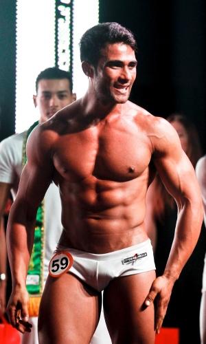 O Garoto Fitness Brasil 2012, Júnior venceu a etapa São Paulo no final de 2011