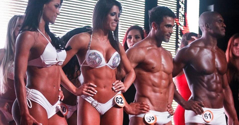 Os quatro primeiros lugares: (da esquerda para direita) Marissol, Nathalia, Júnior e Igor, Marrisol e Júnior foram os vencedores e Igor e Nathalia ficaram na segunda posição