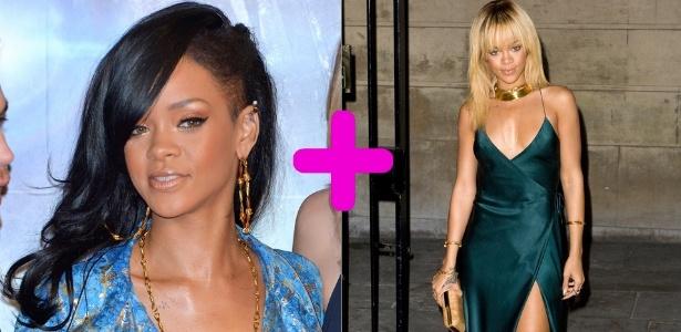 Rihanna em estreia de filme no Japão e ao chegar para apresentação de Stella McCartney em Londres - Getty Images