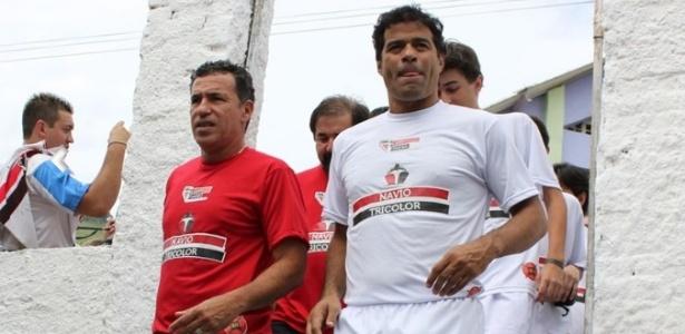 Careca e Rai montaram suas equipes em jogo comemorativo dos 20 anos do 1ª título mundial do São Paulo