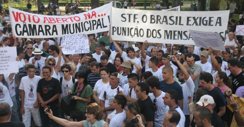 Marcha contra a Corrupção em Belo Horizonte