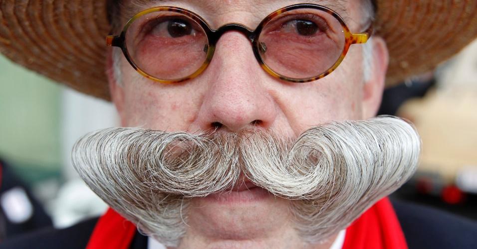 Competidor do Melhor Bigode de 2012