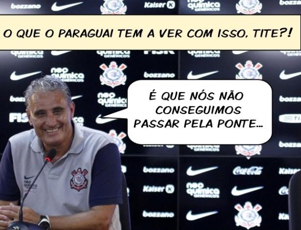 CornetaFC: Tite diz que eliminação no Paulista não atrapalha Corinthians na Libertadores