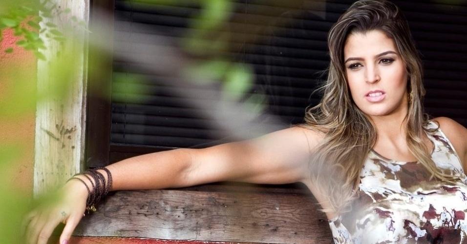Mari Paraíba, que defendeu o Minas na Superliga, fez um ensaio sensual para a Playboy