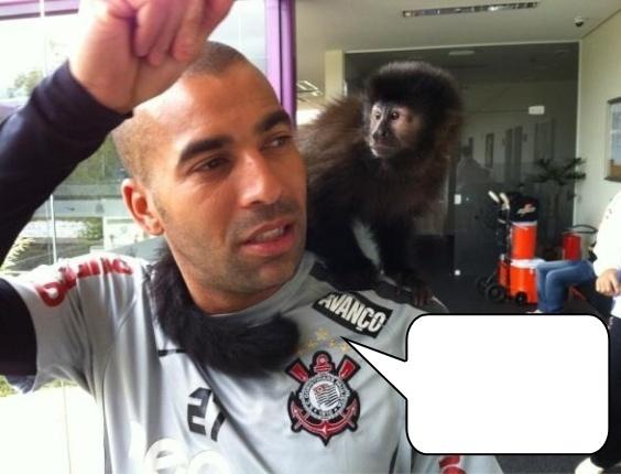 Dê o que falar: o que Sheik falou para sua macaca de estimação?