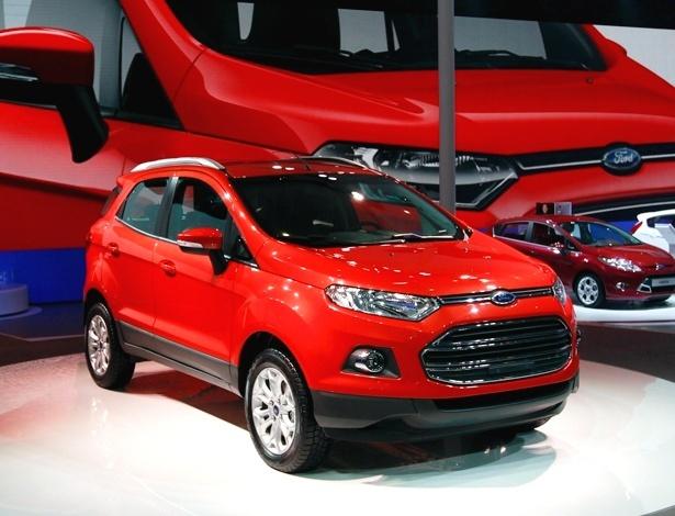 Ford EcoSport na China: carro de produção é muito parecido com os protótipos já exibidos - AP