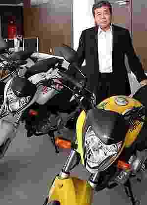 Issao Mizoguchi, vice-presidente das operações da Honda na América do Sul e presidente da Moto Honda da Amazônia, é o primeiro não-japonês a assumir um posto de diretor mundial da empresa - Arthur Caldeira/Infomoto