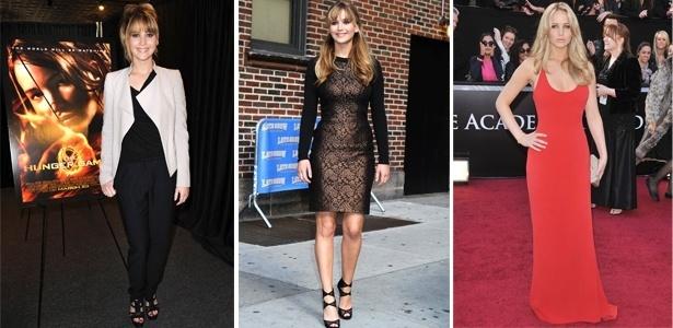 Jennifer Lawrence tem um estilo básico e sexy - Brainpix/Getty Images