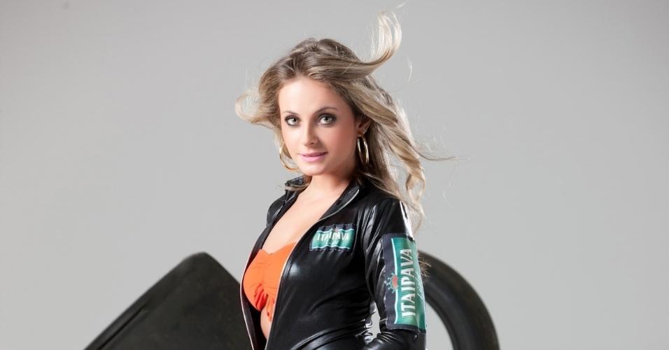 Karolin Kogut é uma das candidatas que concorre a Gata da Fórmula Indy no Brasil