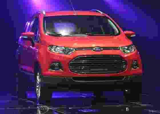 Nova geração do EcoSport foi uma das atrações da Ford no último Salão de Pequim - AP
