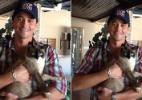 Ex-BBB Fael mostra foto do seu gato de estimação - Reprodução/Twitter