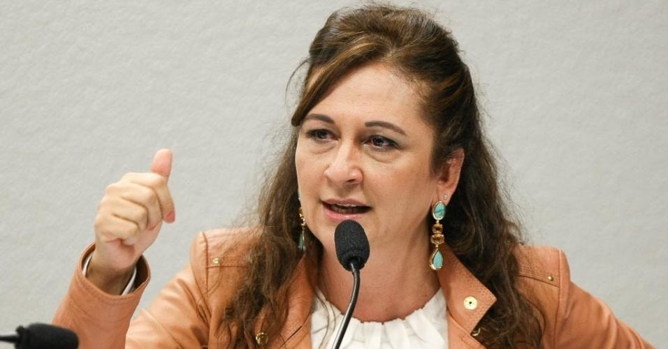 A senadora Katia Abreu (PSC-TO) é integrante da CPI