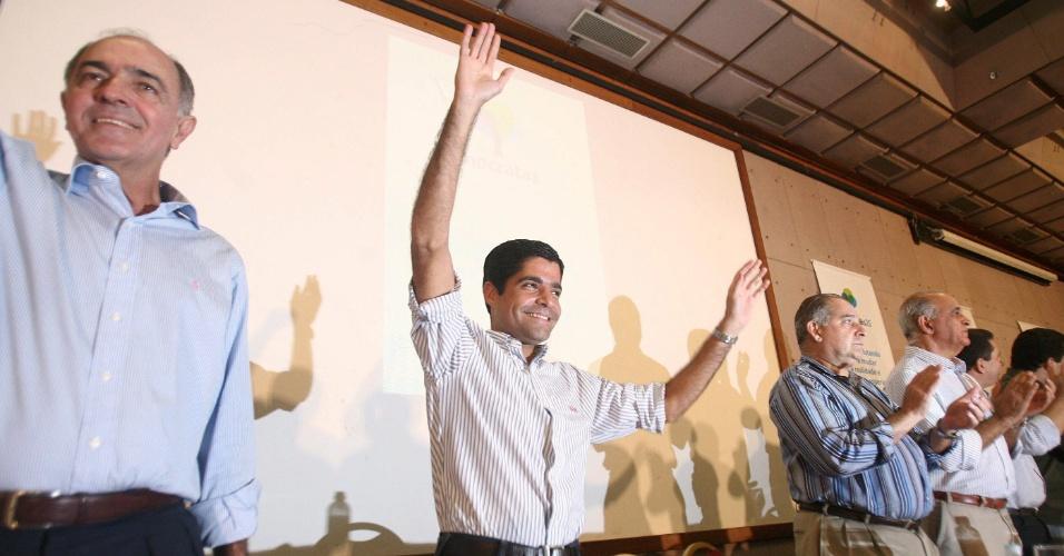 ACM Neto lança sua pré-candidatura a prefeito de Salvador pelo DEM, no Hotel Fiesta