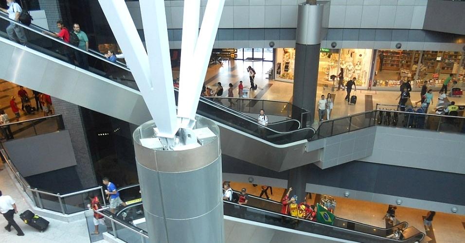 Aeroporto Internacional Gilberto Freyre, em Jaboatão dos Guararapes (região metropolitana do Recife), é um dos melhores do país