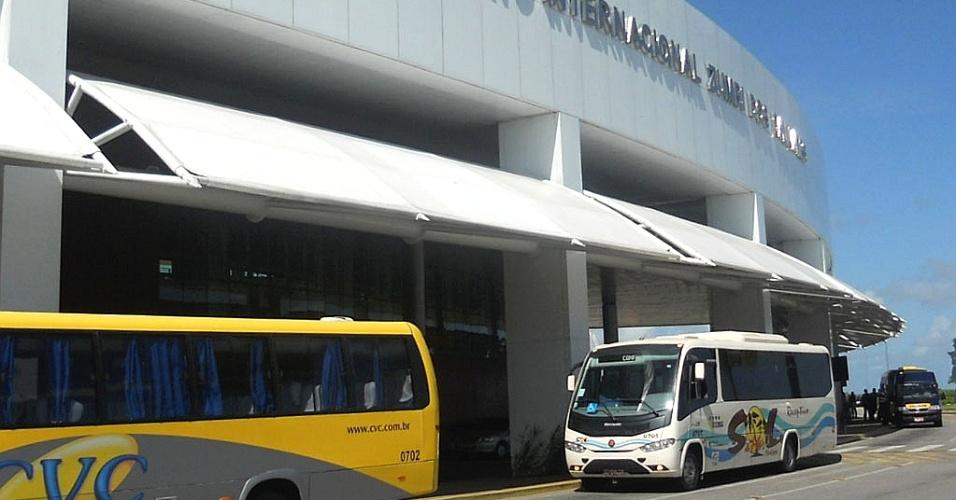 Aeroporto Internacional Zumbi dos Palmares, em Maceió