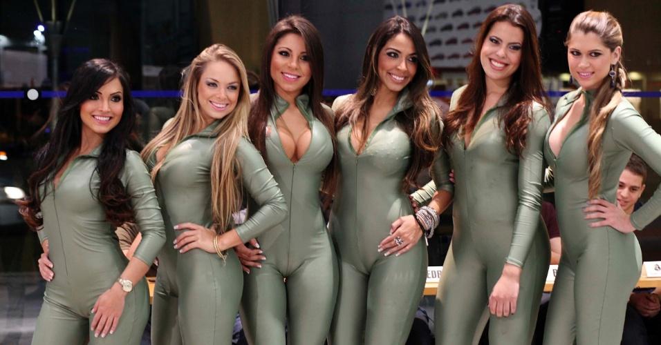 Concurso gata da Fórmula Indy tem belas candidatas