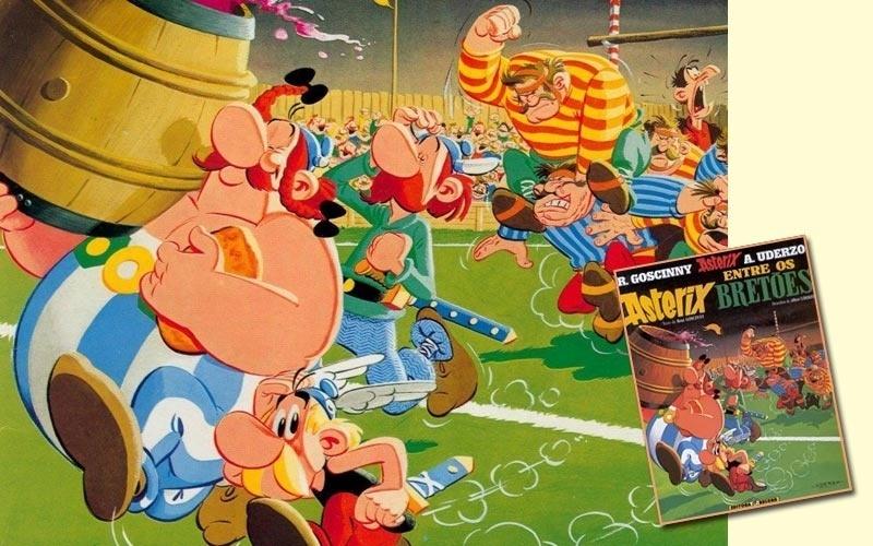 """""""Estamos no ano de 50 antes de Cristo. Toda a Gália foi ocupada pelos romanos. Toda? Não! Uma aldeia povoada por irredutíveis gauleses ainda resiste ao invasor."""" Assim começam sempre as aventuras de Asterix e de seu melhor amigo Obelix. Criadas para divertir e não ensinar história, as tiras de Gosciny e Uderzo se transformaram num dos maiores sucessos do mundo dos quadrinhos."""