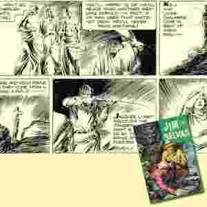 Jim das Selvas: taí um herói dos quadrinhos que deixaria horrorizado os ambientalistas! Na sua primeira aventura, matou diversas feras, contribuindo ativamente para a extinção de várias espécies animais. Mas ele também lutou na Segunda Guerra, combatendo o Imperialismo japonês. Conheça a história real desse personagem que nasceu para concorrer com o sucesso de Tarzan. - Reprodução