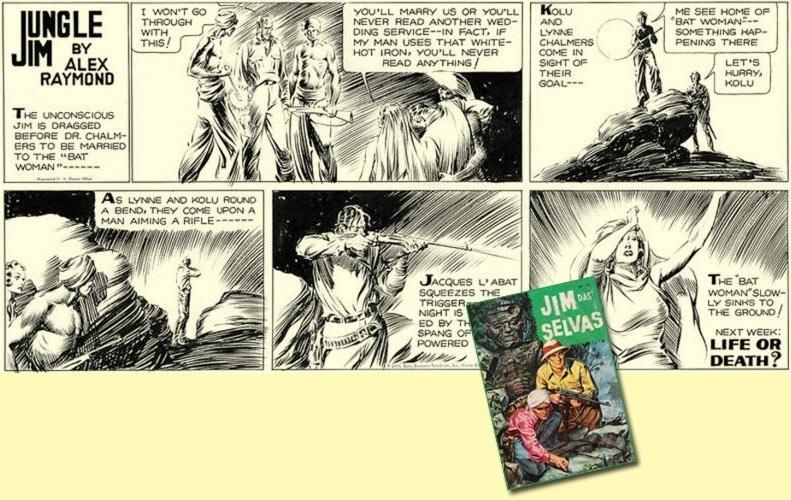 Jim das Selvas: taí um herói dos quadrinhos que deixaria horrorizado os ambientalistas! Na sua primeira aventura, matou diversas feras, contribuindo ativamente para a extinção de várias espécies animais. Mas ele também lutou na Segunda Guerra, combatendo o Imperialismo japonês. Conheça a história real desse personagem que nasceu para concorrer com o sucesso de Tarzan.