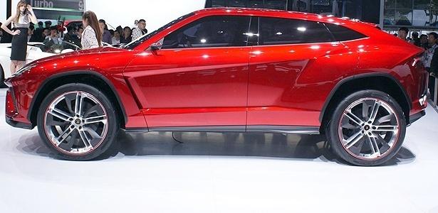 Lamborghini Urus: SUV (ou crossover-cupê, quem sabe) pode inaugurar novo segmento - Newspress
