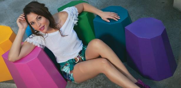 """Maria Melilo posa para a revista """"Contigo!"""" (25/4/2012)"""