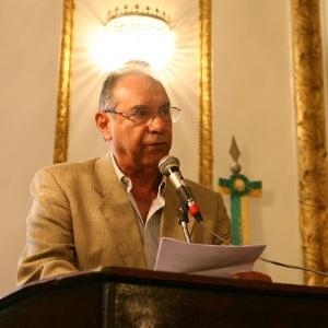O coronel reformado do Exército Carlos Alberto Brilhante Ustra, durante evento organizado em 2007 no Clube Militar, no Rio de Janeiro, para homenageá-lo; Ustra foi denunciado pelo MPF por crimes cometidos durante a ditadura
