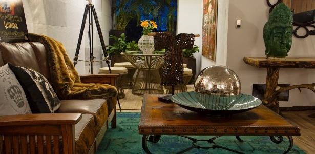 O hotel equestre El Corcel é assinado pela designer de interiores Ruth Mizrach, na Casa Cor Panamá 2012 - Divulgação