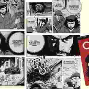 """O revolucionário Ernesto """"Che"""" Guevara lutou pelo socialismo, mas acabou se tornando um fenômeno de consumo da sociedade capitalista. Sua imagem está estampada nos mais diversos tipos de produtos comerciais, de biquínis a latas de cerveja. O guerrilheiro também já virou herói de história em quadrinhos, por obra de um roteirista e desenhista sul-coreano, que faz de Che um super-herói. - Reprodução"""