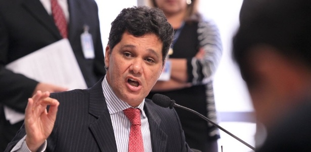 O senador Ricardo Ferraço (PMDB-ES), relator do processo de cassação de Delcídio do Amaral no Senado