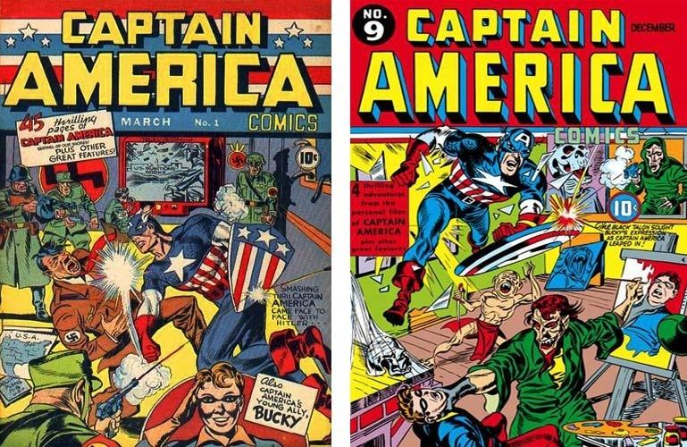 Os Estados Unidos entraram na Segunda Guerra Mundial em dezembro de 1941, mas o Capitão América já estava enfrentando Hitler e Mussolini havia alguns meses. Ele foi o primeiro super-herói engajado e seu arqui-inimigo era o Caveira, um supervilão nazista. Mas o Capitão não ficou sozinho na luta contra as potências nazifascistas. Sabia que outros heróis vieram ajudá-lo?