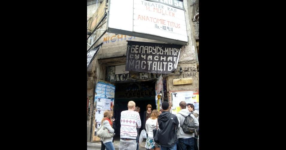 A ocupação Tacheles é um dos espaços mais importantes do underground da cidade