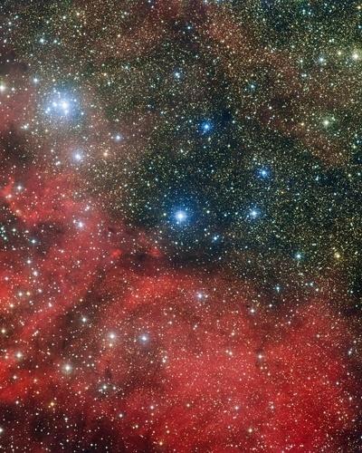 Aglomerado estelar NGC 6604