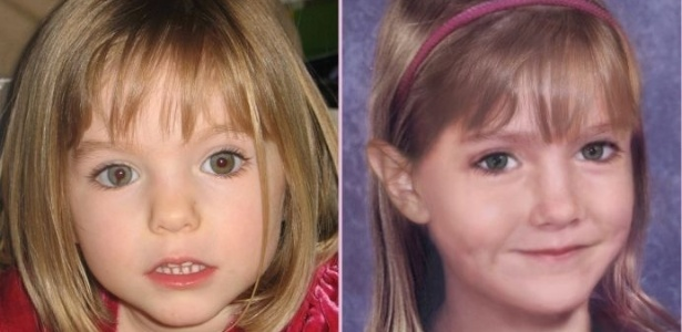 Imagem estima como seria o rosto de Madeleine anos após seu desaparecimento