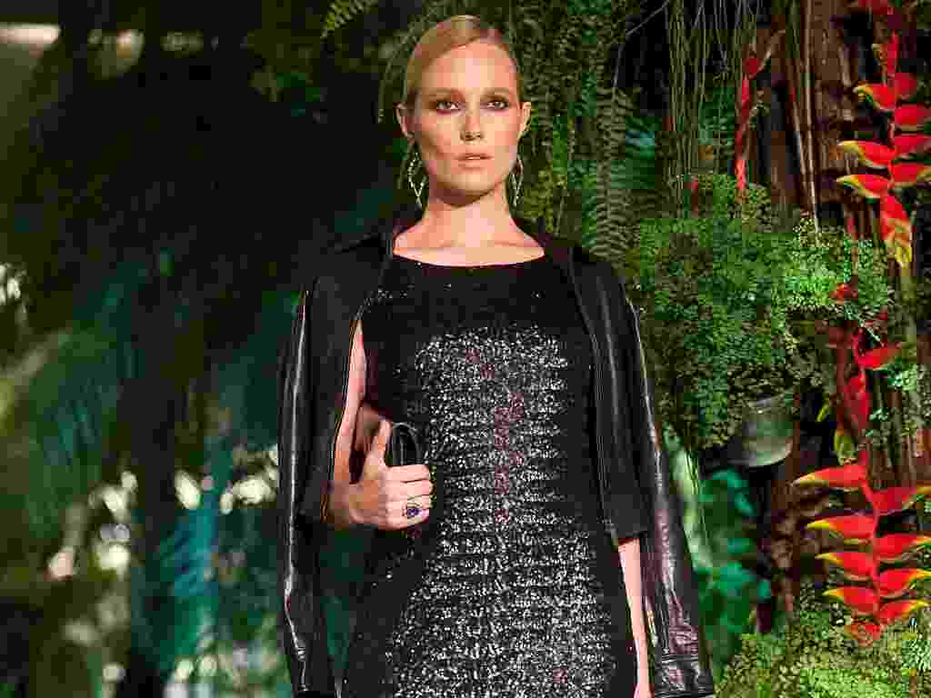 Look Ganta desfilado no Fashion Day, do Shopping Cidade Jardim de SP (24/04/2012) - Leandro Soares/UOL