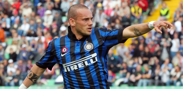 Holandês defendeu a Inter de Milão entre 2009 e 2013