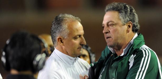 Dorival Júnior e Abel Braga vivem momentos distintos em relação ao Flamengo  - Edu Andrade/Agência Freelancer