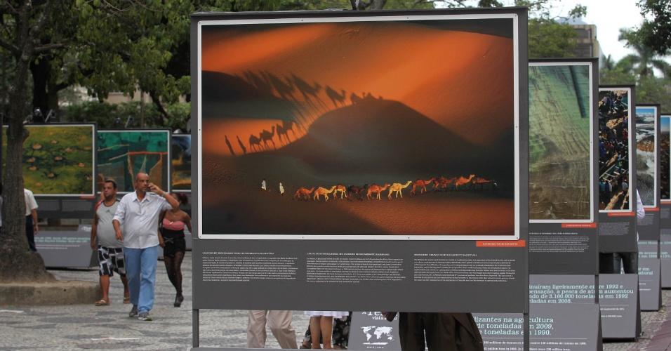 A exposição já rodou o mundo tendo e foi vista por 120 milhões de pessoas em 110 países
