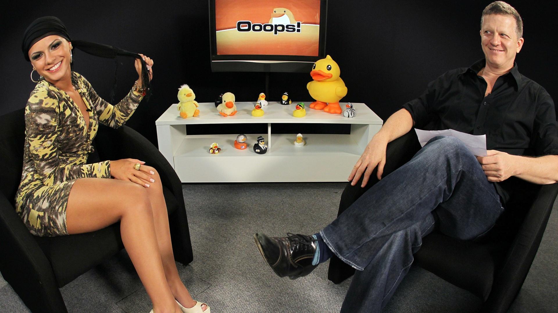 Babi Rossi, 21, participa de exclusiva do Programa Ooops!, no UOL