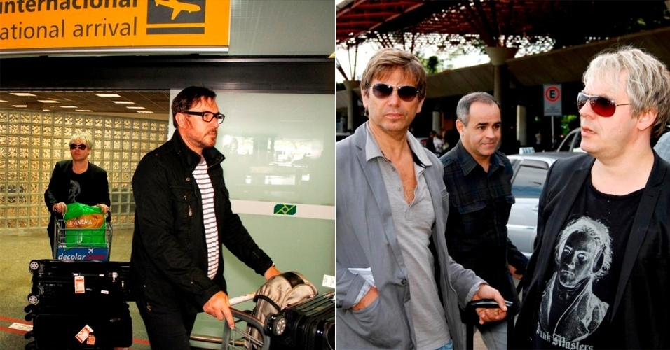Duran Duran desembarca em Brasília para turnê pelo país