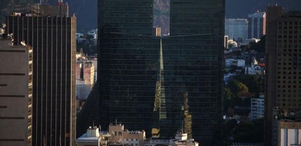 Foto do centro da cidade do Rio de Janeiro