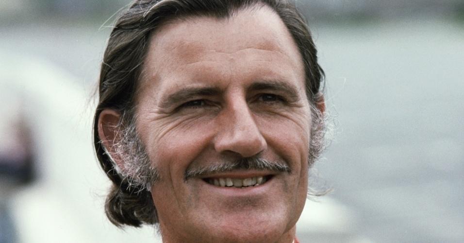 Graham Hill, piloto inglês bicampeão mundial de Fórmula 1 na década de 60