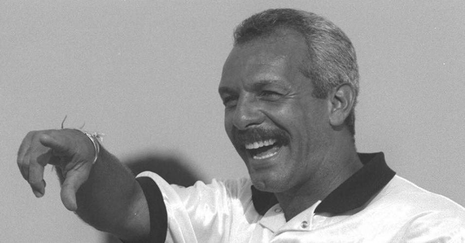 Júnior, ex-jogador do Flamengo e da seleção brasileira