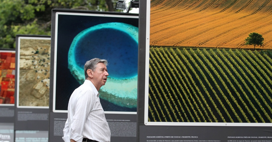 O objetivo da mostra é alertar à população sobre as mudanças climáticas e a devastação do meio ambiente