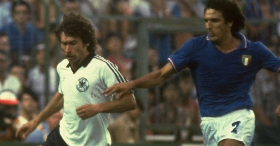 Paul Breitner, craque da seleção alemã campeã da Copa do Mundo de 1974