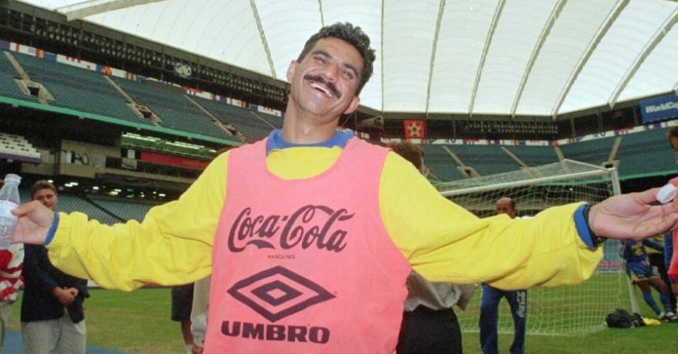 Ricardo Rocha, zagueiro campeão com a seleção brasileira na Copa do Mundo de 1994